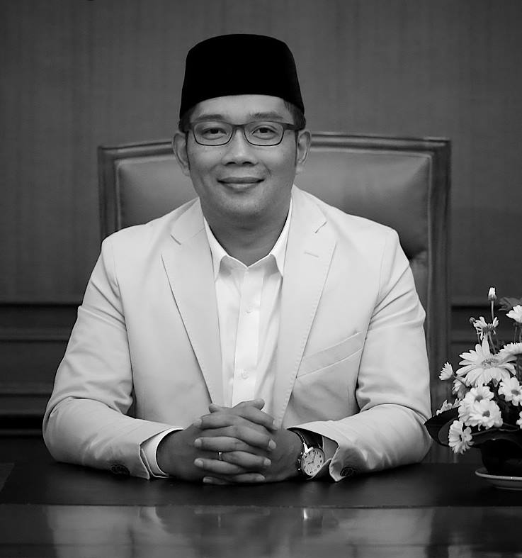 Bandung Mayor, Ridwan Kamil. Photo is taken from his official Facebook page.