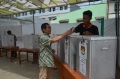 casting votes in Indonesia elections