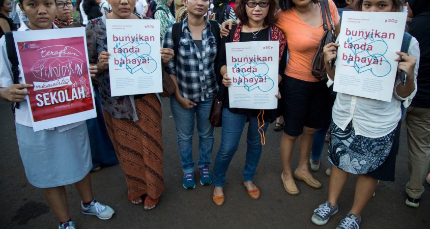 bdbe596fcdcb40 Rights groups criticise Indonesia over chemical castration for child sex  offenders