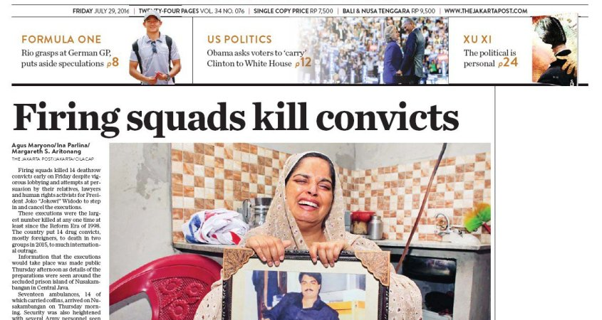 1f3d33dd77606c The Jakarta Post sorry for jumping the gun over execution story – THE ...