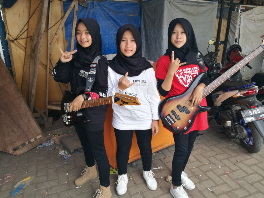 b129c971520c8a Indonesian all-girl metal band breaks the mould – THE PARROT