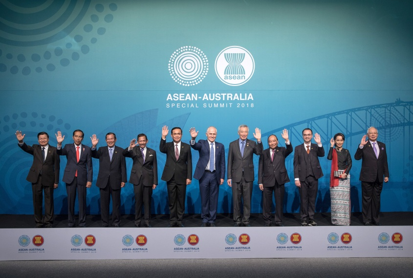 Asean Oz leaders